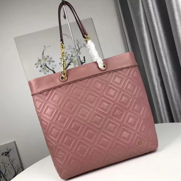 29bb58817ef Tory Burch Fleming Tote- Pink Magnolia